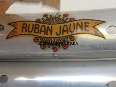 RUBAN JAUNE ALUMINUM D:541 32h Clincher rim 600. NOS (Set of 2)