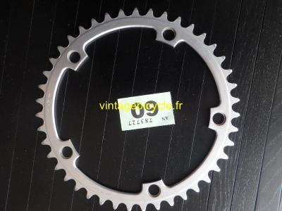 STRONGLIGHT 43t Chainring Aluminium bcd 144mm VGC