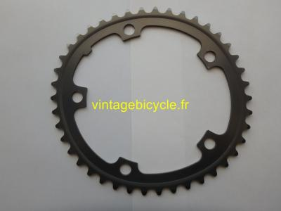 SHIMANO 42t Chainring Biopace Hard anodized aluminum bcd 130mm NOS