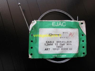 EJAC Huret Simplex French Front Derailleur Universal Cable. NOS