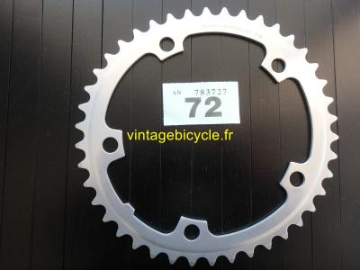 SHIMANO 42t Chainring Biopace SG aluminum bcd 130mm NOS