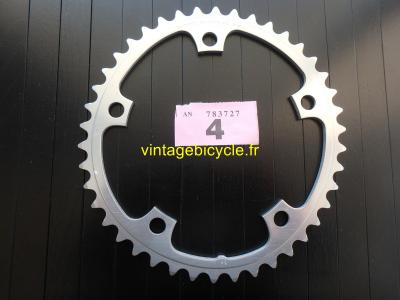 SHIMANO 42t Chainring Biopace-SG aluminum bcd 130mm NOS