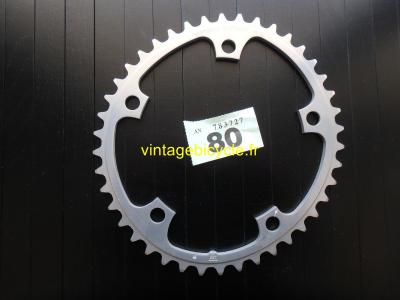 SHIMANO 42t Chainring Biopace aluminum bcd 130mm NOS