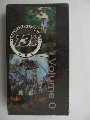 THIRTEEN ENTERPRISES VOLUME 0 (2001) BMX DVD VERY RARE NEW NOT OPEN