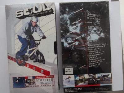 SOUL SUMMER 2001 (Bandits Production 2001) BMX Video DVD VERY RARE NEW NOT OPEN