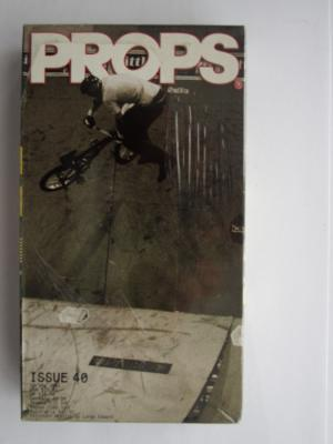Props Issue 40 (2001) BMX Video DVD TRES RARE neuf pas ouvert