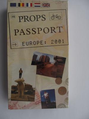Props PASSPORT (2001) BMX Video DVD VERY RARE NEW NOT OPEN