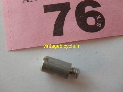 CHAIN STOP GUIDE SCREW/SPACER NOS (1)