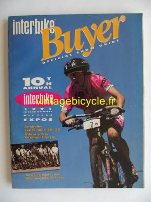 INTERBIKE BUYER OFFICIAL SHOW GUIDE 1991