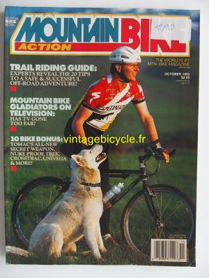 MOUNTAIN BIKE ACTION 1993 - 10 - N° 10 octobre 1993