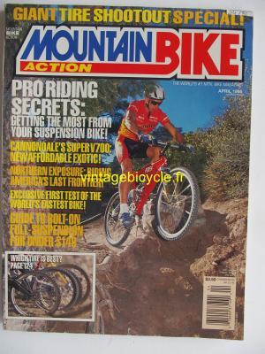 MOUNTAIN BIKE ACTION 1995 - 04 - N° 4 avril 1995