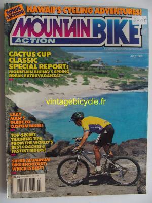 MOUNTAIN BIKE ACTION 1995 - 07 - N° 7 juillet 1995