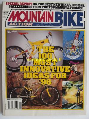 MOUNTAIN BIKE ACTION 1995 - 09 - N° 9 septembre 1995