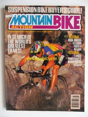 MOUNTAIN BIKE ACTION 1994 - 03 - N° 3 mars 1994