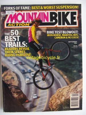 MOUNTAIN BIKE ACTION 1994 - 09 - N° 9 septembre 1994