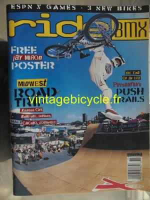 RIDE BMX 1998 - 10 - octobre / novembre 1998