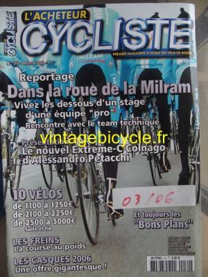 L'ACHETEUR CYCLISTE 2006 - 03 - N°30 mars 2006