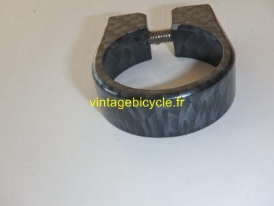 Collier tige de selle pour tube de cadre 34.9mm H:13mm NOS