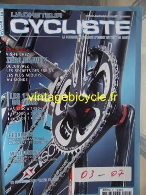 L'ACHETEUR CYCLISTE 2007 - 03 - N°40 mars 2007