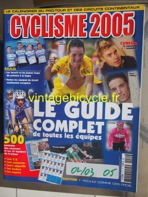 CYCLISME 2005 - 02 - N°11 fevrier / mars 2005