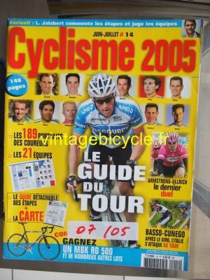 CYCLISME 2005 - 06 - N°14 juin / juillet 2005