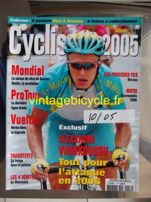 CYCLISME 2005 - 10 - N°16 octobre 2005