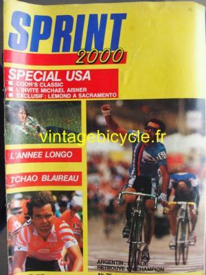 SPRINT 2000 1986 - 09 - N°75 septembre 1986