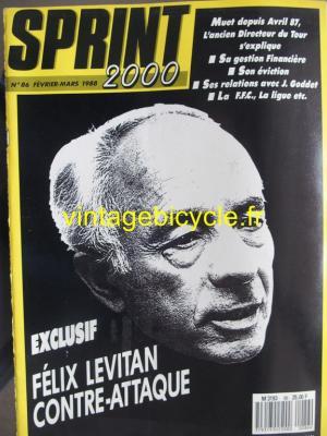 SPRINT 2000 1988 - 02 - N°86 fevrier 1988