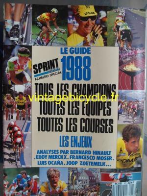 SPRINT 2000 1988 - 03 - N°87 Le guide 1988