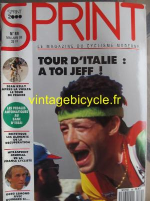 SPRINT 2000 1988 - 05 - N°89 mai / juin 1988