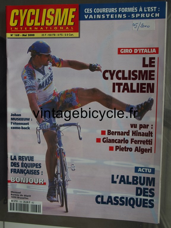 Vintage bicycle fr cyclisme international 15 copier
