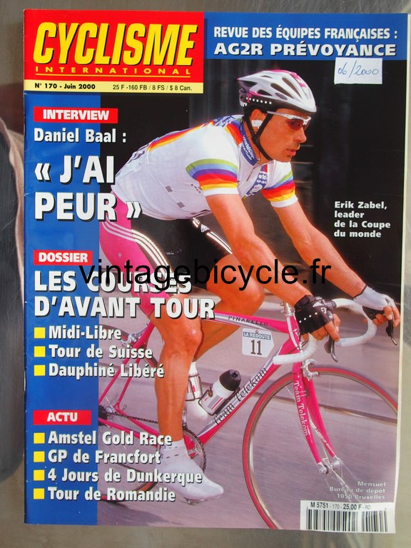 Vintage bicycle fr cyclisme international 16 copier