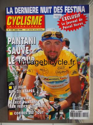 CYCLISME INTERNATIONAL 1998 - 08 - N°154 aout 1998
