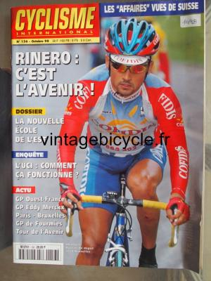 CYCLISME INTERNATIONAL 1998 - 10 - N°156 octobre 1998
