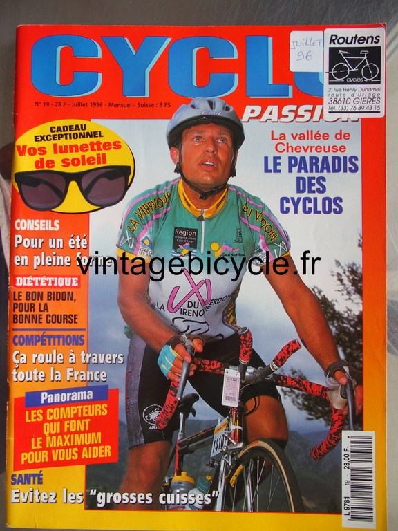 Vintage bicycle fr cyclo passion 7 copier 1