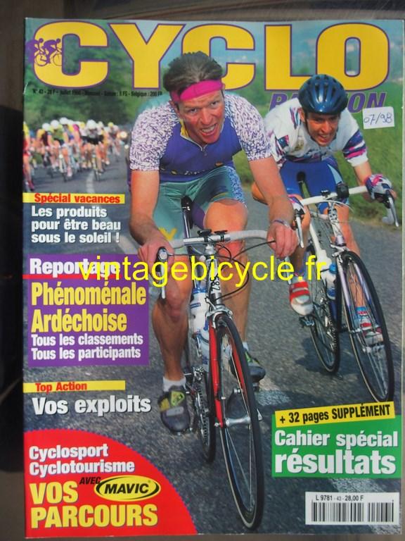 Vintage bicycle fr cyclo passion 8 copier 2