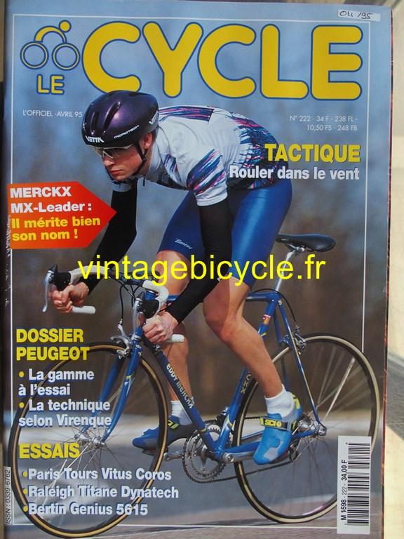 Vintage bicycle fr l officiel du cycle 10 copier