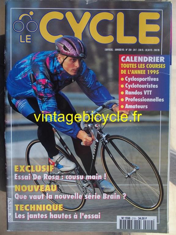Vintage bicycle fr l officiel du cycle 13 copier