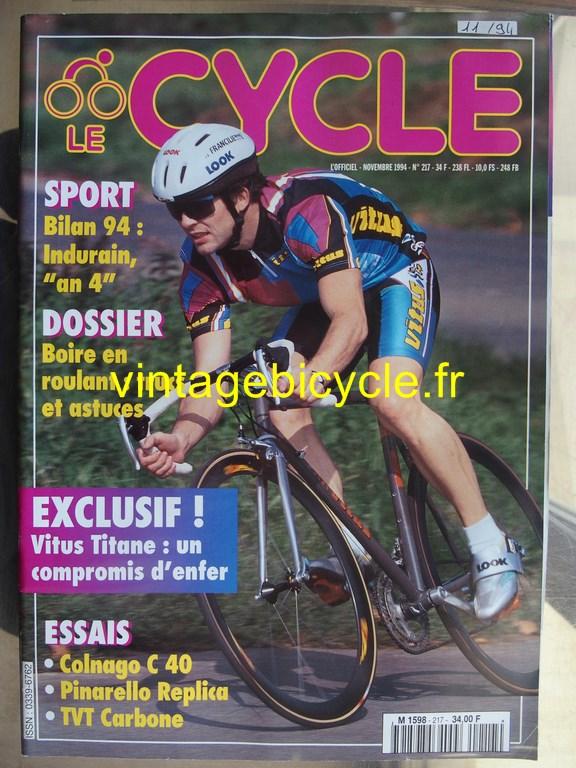 Vintage bicycle fr l officiel du cycle 15 copier