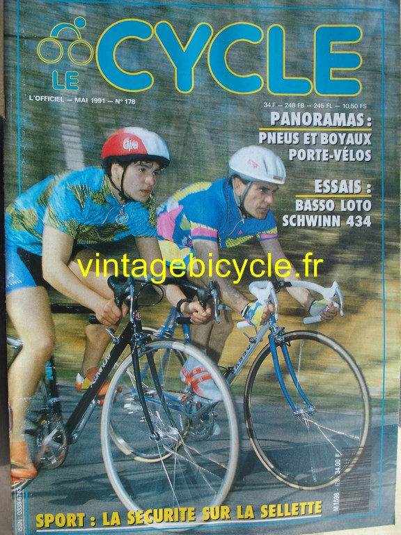 Vintage bicycle fr l officiel du cycle 28 copier