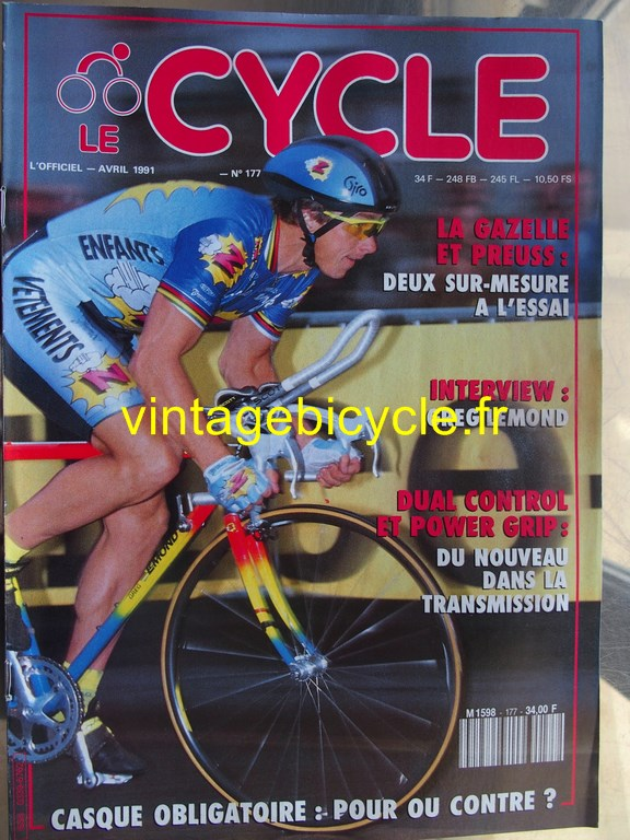 Vintage bicycle fr l officiel du cycle 29 copier