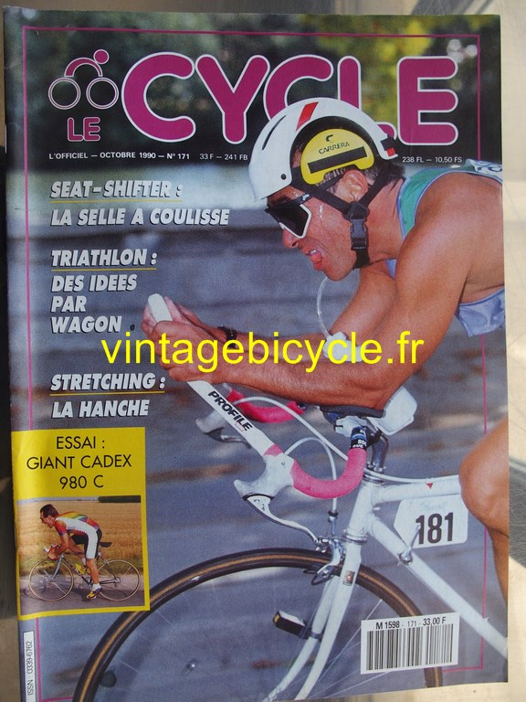 Vintage bicycle fr l officiel du cycle 34 copier