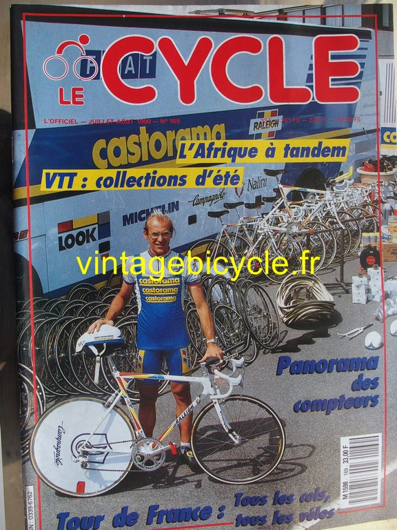 Vintage bicycle fr l officiel du cycle 36 copier