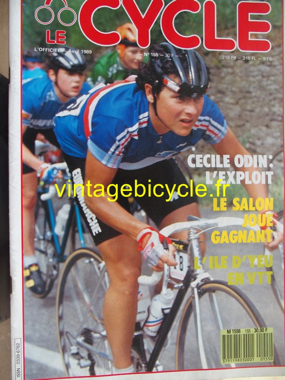 Vintage bicycle fr l officiel du cycle 43 copier
