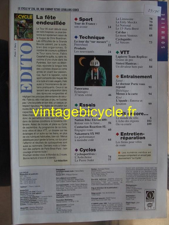 Vintage bicycle fr l officiel du cycle 5 copier