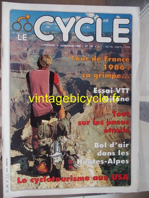 Vintage bicycle fr l officiel du cycle 50 copier