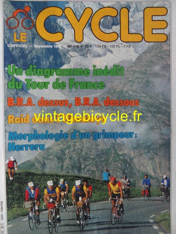 Vintage bicycle fr l officiel du cycle 57 copier
