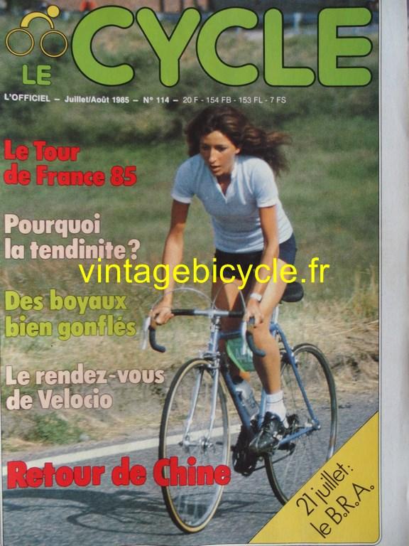 Vintage bicycle fr l officiel du cycle 58 copier