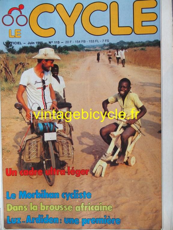 Vintage bicycle fr l officiel du cycle 59 copier