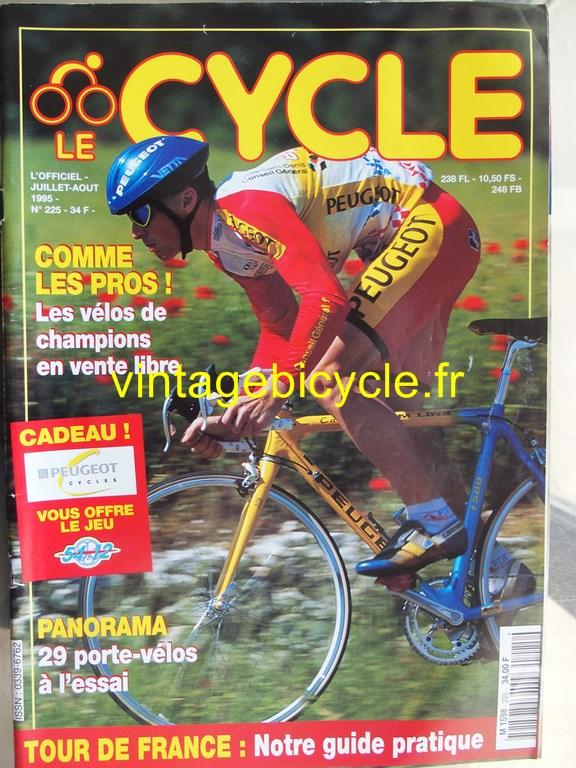 Vintage bicycle fr l officiel du cycle 6 copier